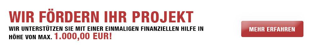 Wir fördern gute Ideen für Stralsund